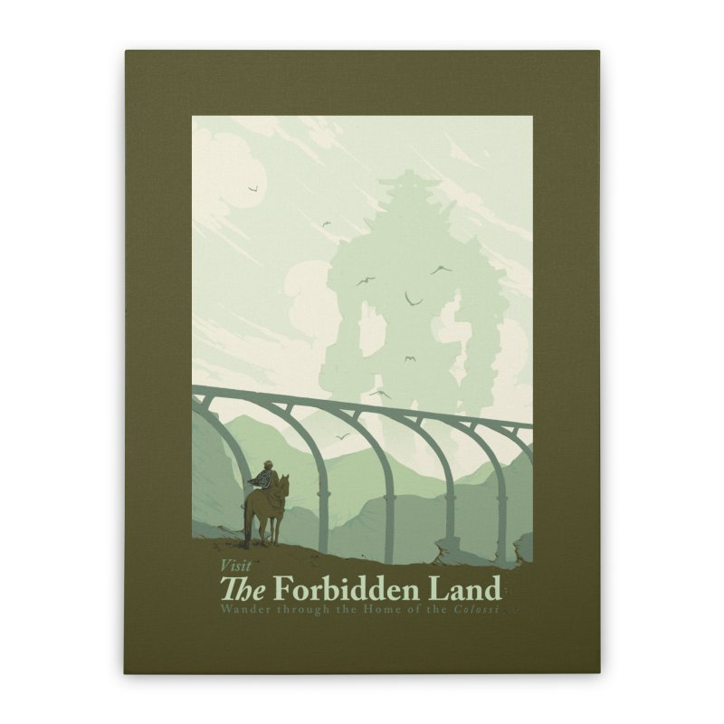 Visit The Forbidden Land Home Stretched Canvas by mathiole
