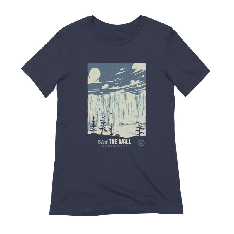 Visit The Wall Women's Extra Soft T-Shirt by mathiole