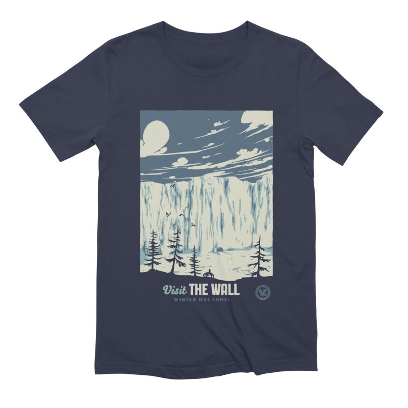 Visit The Wall Men's Extra Soft T-Shirt by mathiole