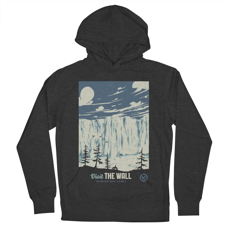 Visit The Wall Men's French Terry Pullover Hoody by mathiole