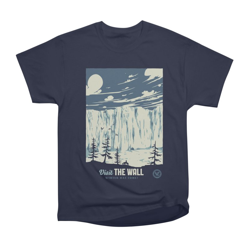 Visit The Wall Men's Heavyweight T-Shirt by mathiole