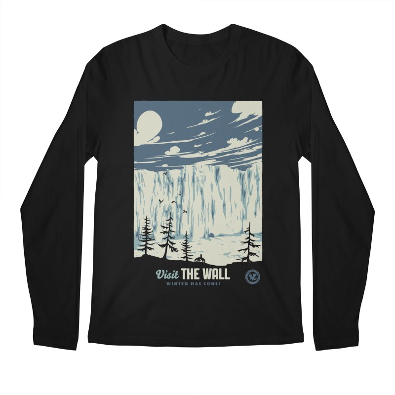 Visit The Wall Men's Regular Longsleeve T-Shirt by mathiole