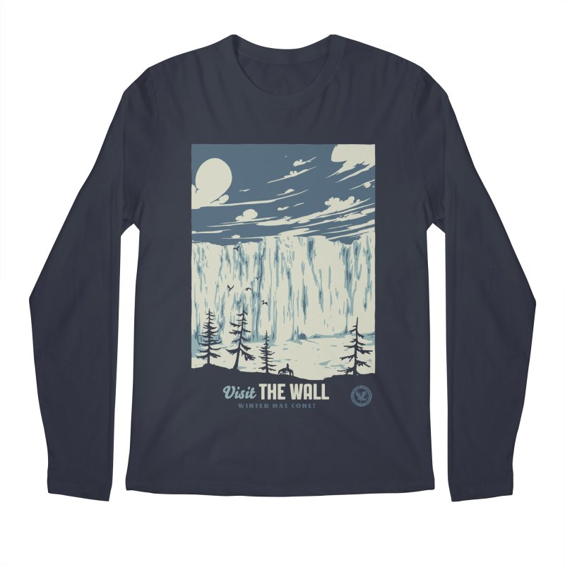 Visit The Wall Men's Regular Longsleeve T-Shirt by mathiole