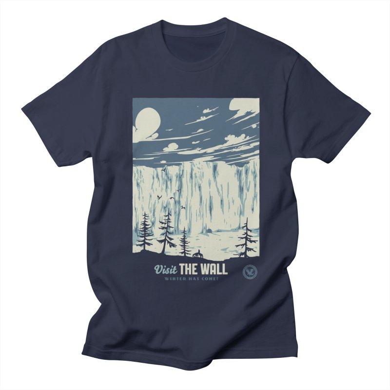 Visit The Wall Men's Regular T-Shirt by mathiole