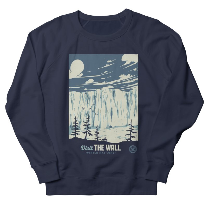Visit The Wall Women's French Terry Sweatshirt by mathiole