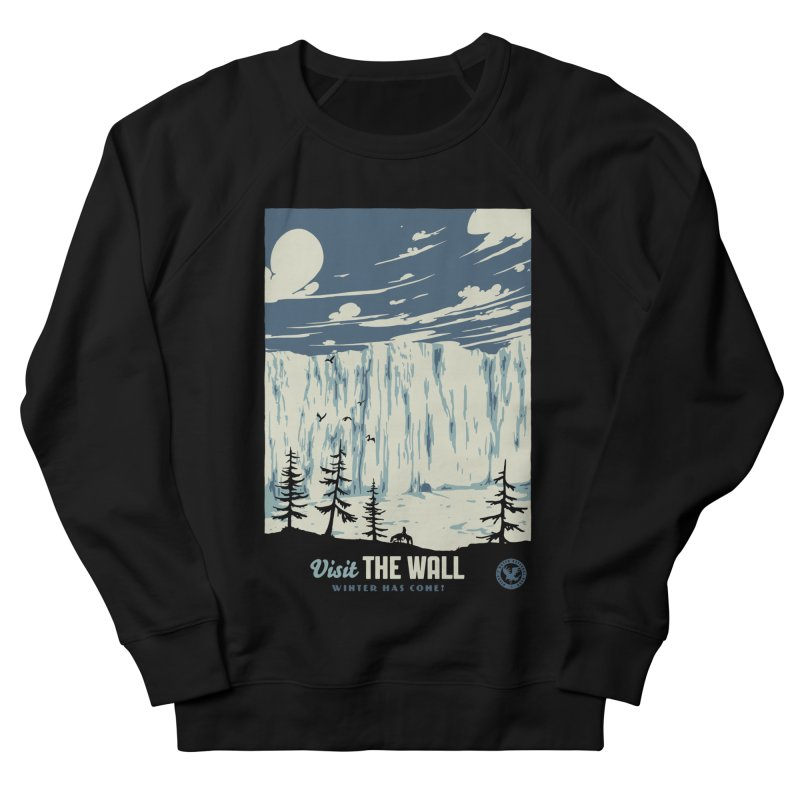 Visit The Wall Men's French Terry Sweatshirt by mathiole