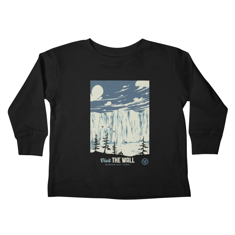 Visit The Wall Kids Toddler Longsleeve T-Shirt by mathiole