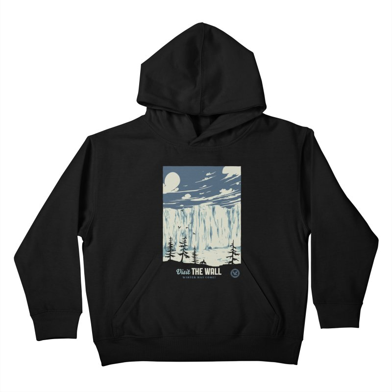 Visit The Wall Kids Pullover Hoody by mathiole