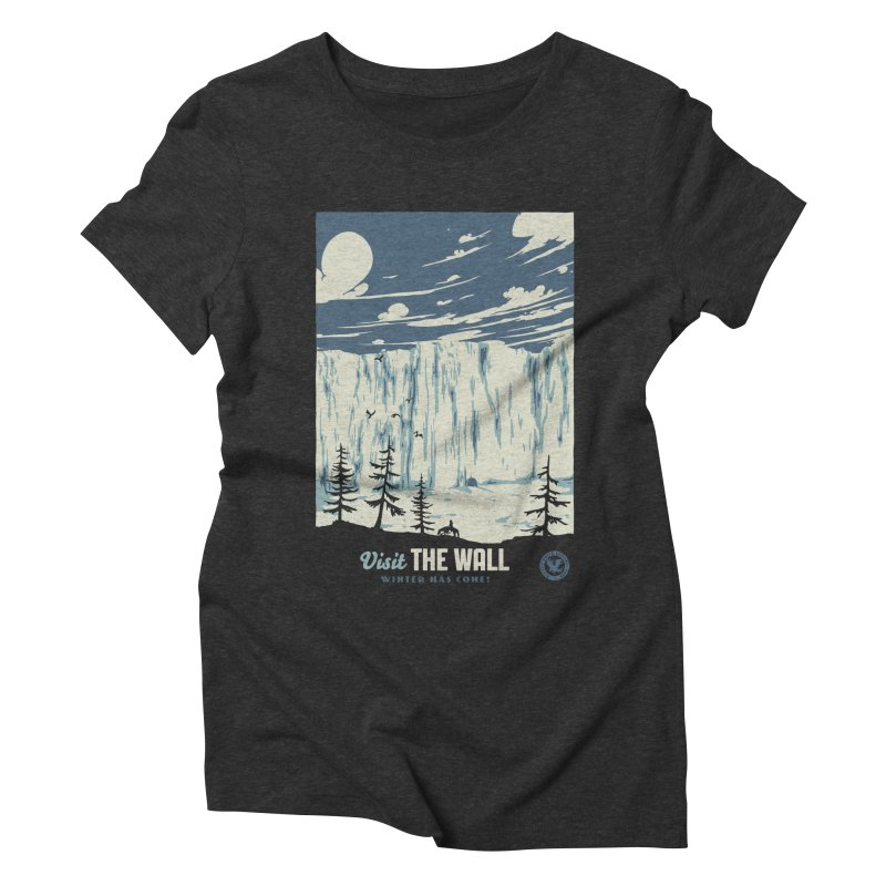 Visit The Wall Women's Triblend T-Shirt by mathiole