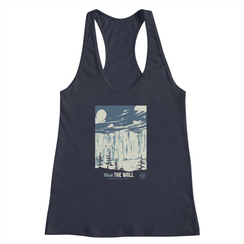 Visit The Wall Women's Racerback Tank by mathiole