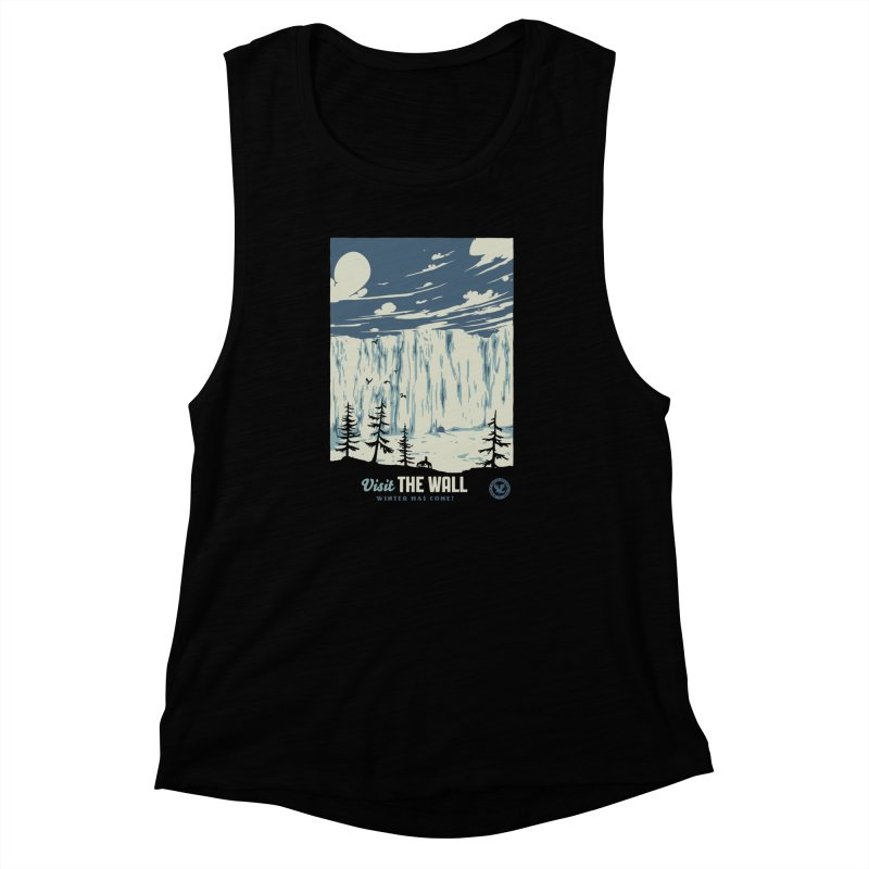 Visit The Wall Women's Muscle Tank by mathiole