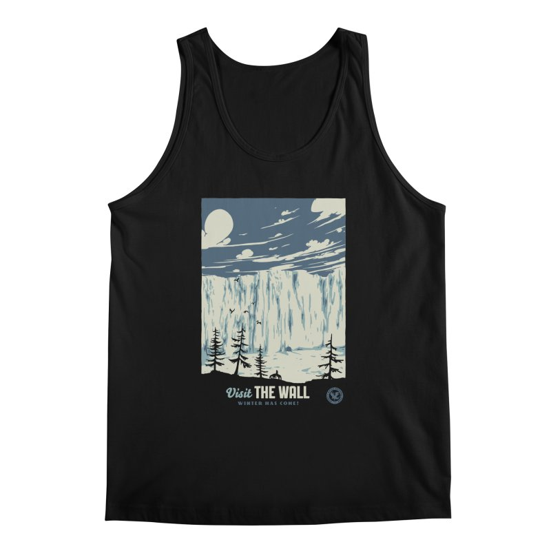 Visit The Wall Men's Regular Tank by mathiole