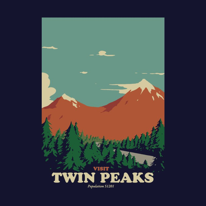 Visit Twin Peaks Accessories Phone Case by mathiole
