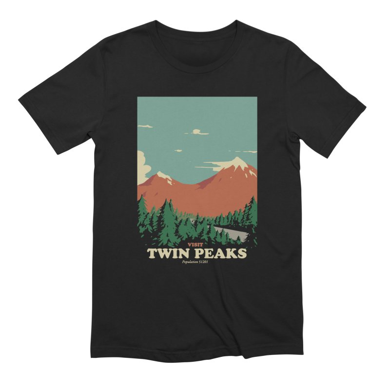Visit Twin Peaks Men's Extra Soft T-Shirt by mathiole