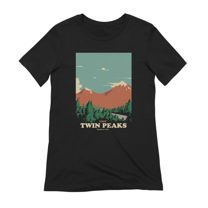 Visit Twin Peaks Women's Extra Soft T-Shirt by mathiole