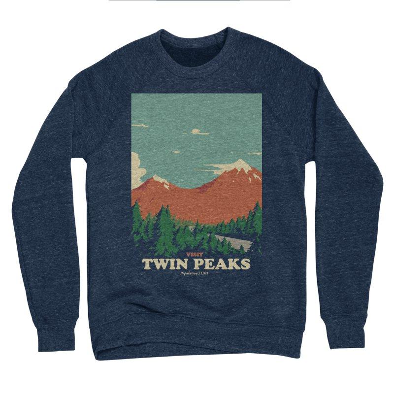 Visit Twin Peaks Men's Sponge Fleece Sweatshirt by mathiole