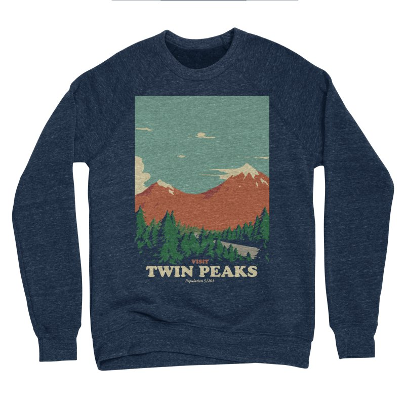 Visit Twin Peaks Women's Sponge Fleece Sweatshirt by mathiole