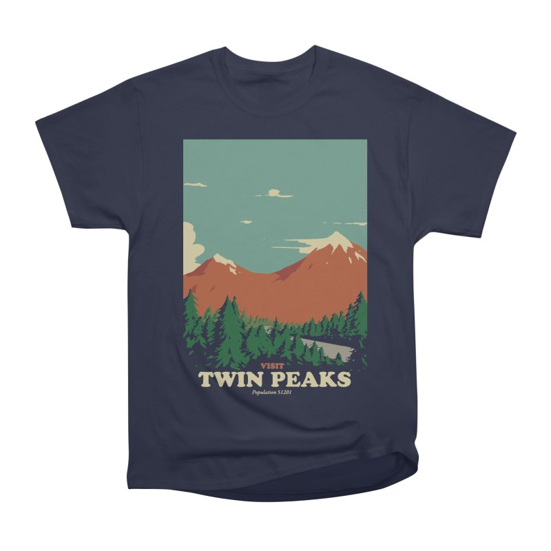 Visit Twin Peaks Men's Heavyweight T-Shirt by mathiole