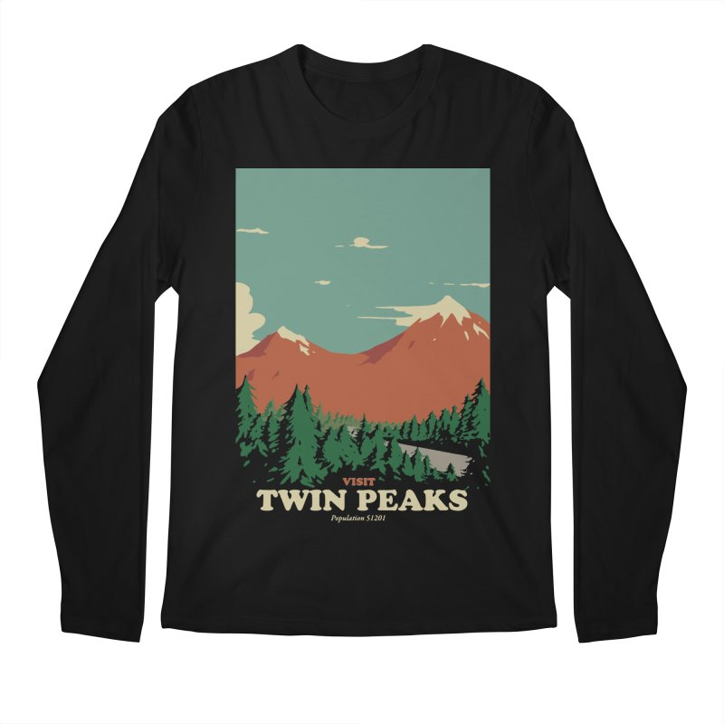 Visit Twin Peaks Men's Regular Longsleeve T-Shirt by mathiole