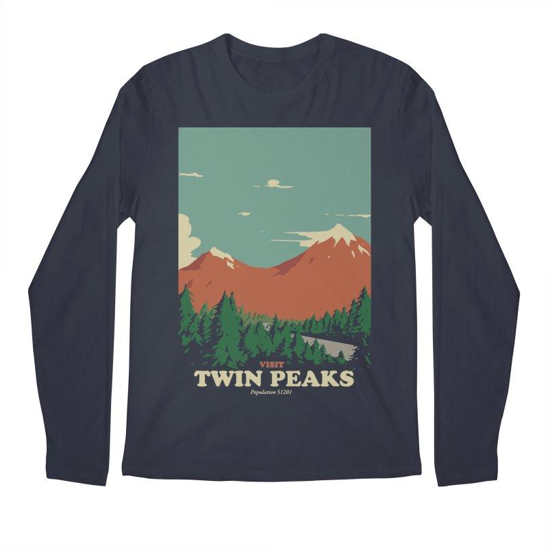 Visit Twin Peaks Men's Regular Longsleeve T-Shirt by mathiole