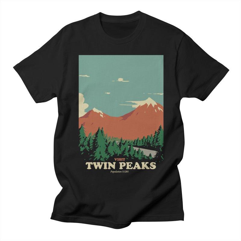 Visit Twin Peaks Women's Regular Unisex T-Shirt by mathiole