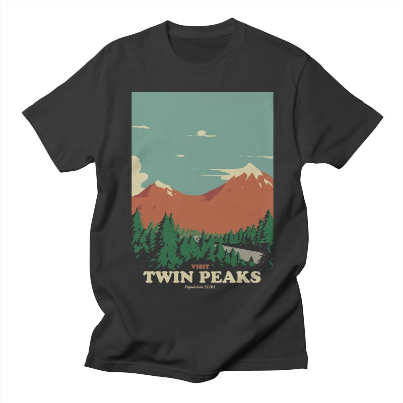 Visit Twin Peaks Men's Regular T-Shirt by mathiole