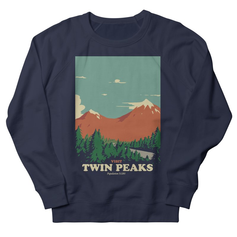 Visit Twin Peaks Women's French Terry Sweatshirt by mathiole