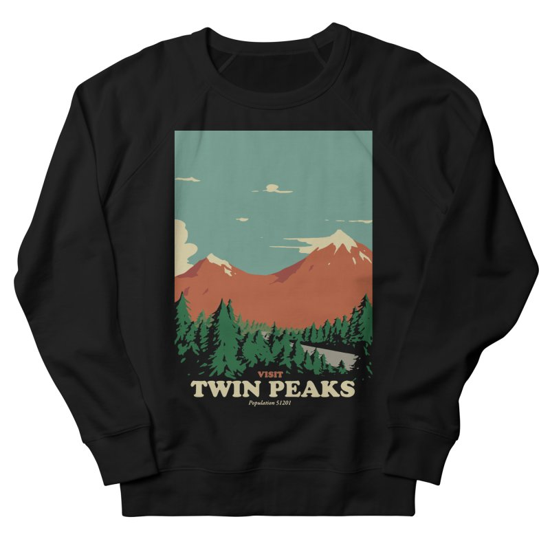 Visit Twin Peaks Men's French Terry Sweatshirt by mathiole