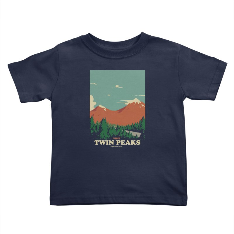 Visit Twin Peaks Kids Toddler T-Shirt by mathiole