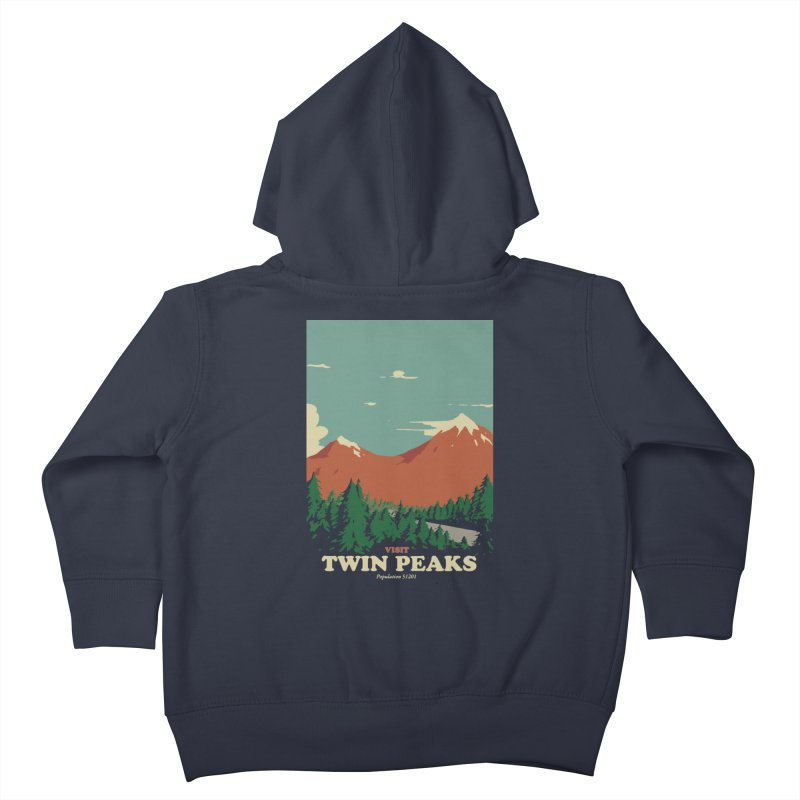 Visit Twin Peaks Kids Toddler Zip-Up Hoody by mathiole