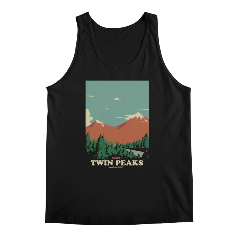 Visit Twin Peaks Men's Regular Tank by mathiole