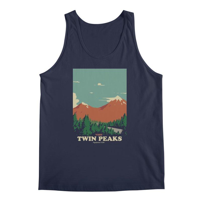 Visit Twin Peaks Men's Regular Tank by mathiole