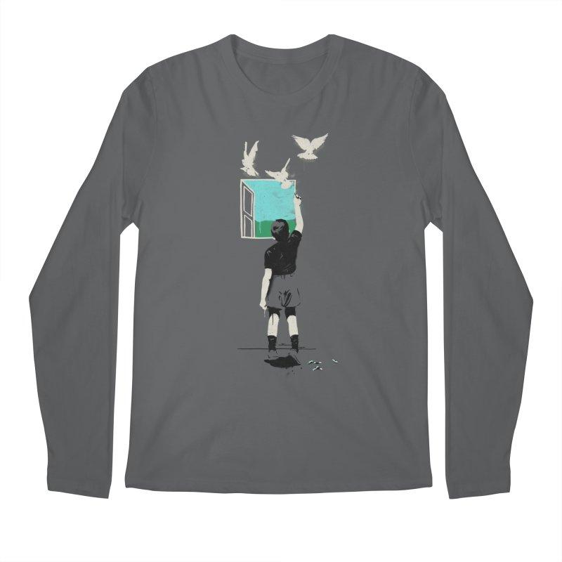 Exit Men's Longsleeve T-Shirt by mathiole
