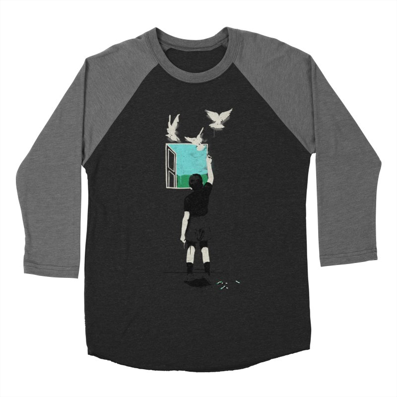 Exit Men's Baseball Triblend T-Shirt by mathiole