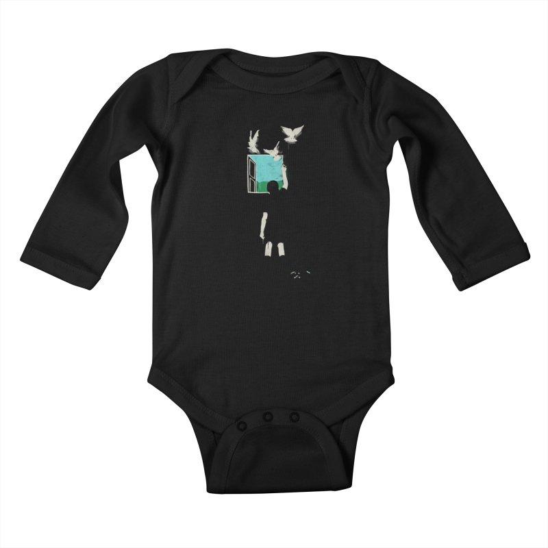 Exit Kids Baby Longsleeve Bodysuit by mathiole