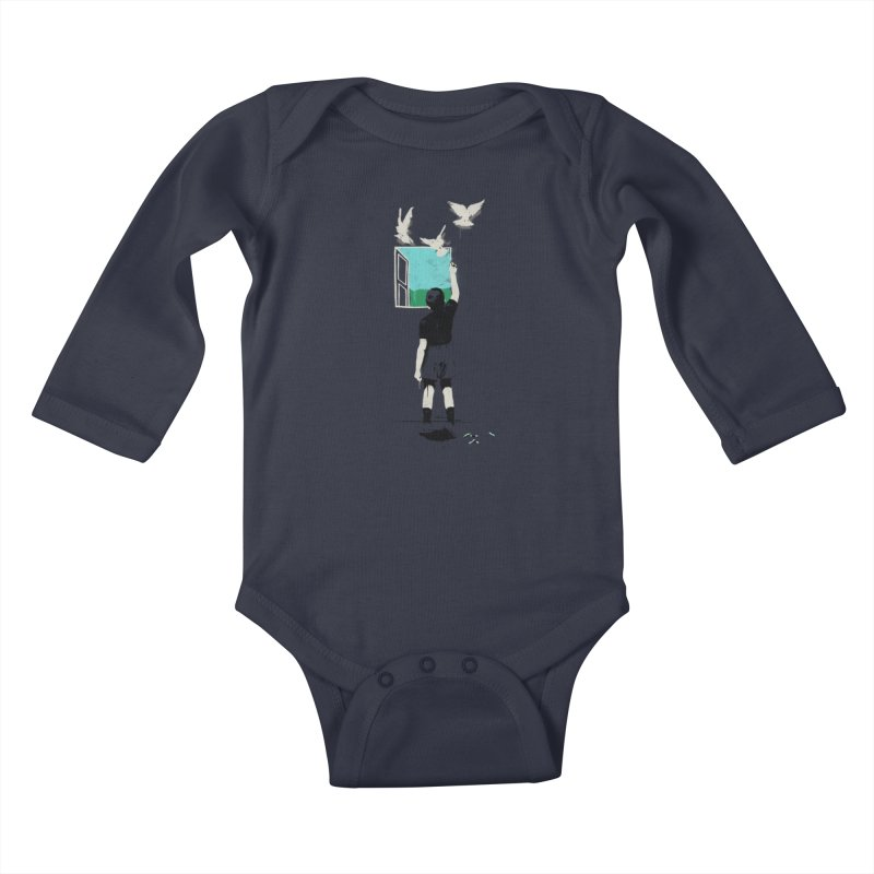 Exit Kids Baby Longsleeve Bodysuit by mathiole