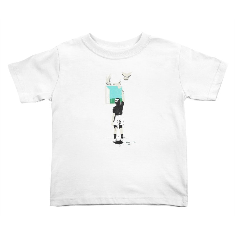 Exit Kids Toddler T-Shirt by mathiole