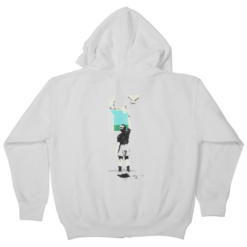Exit Kids Zip-Up Hoody by mathiole