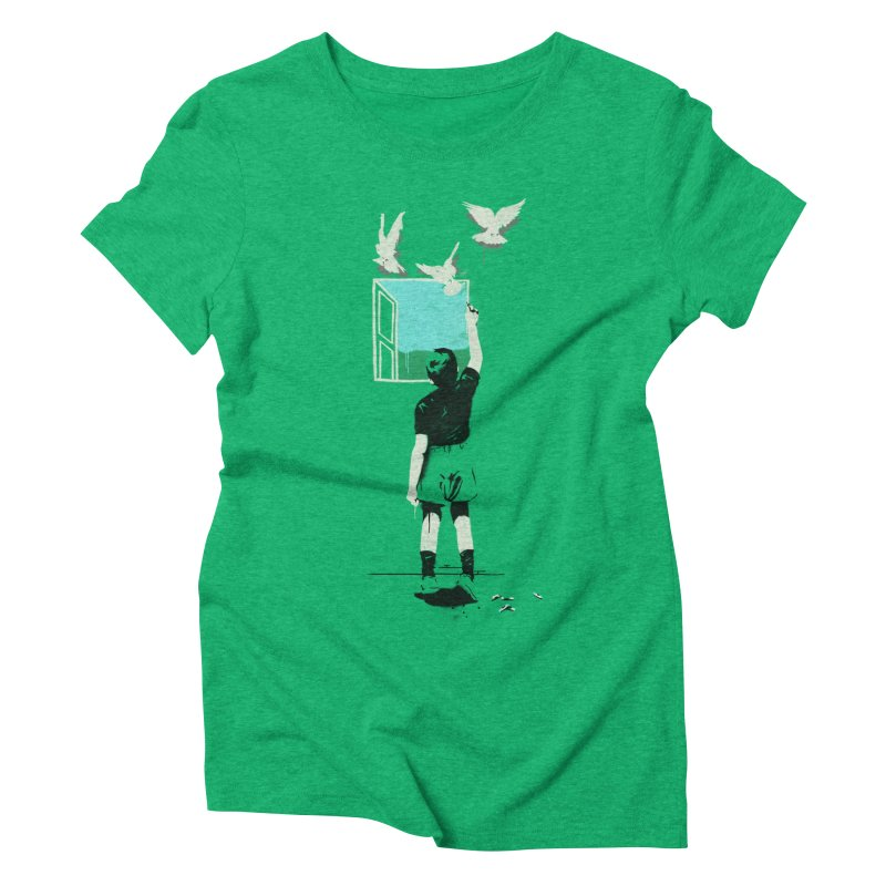 Exit Women's Triblend T-shirt by mathiole