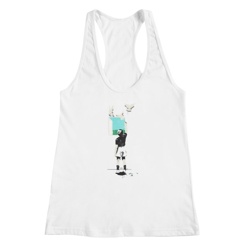 Exit Women's Racerback Tank by mathiole
