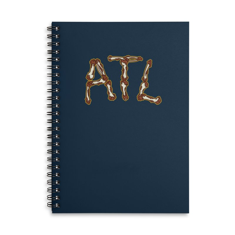 No Bones About It Accessories Lined Spiral Notebook by MattAlbert84's Apparel Shop