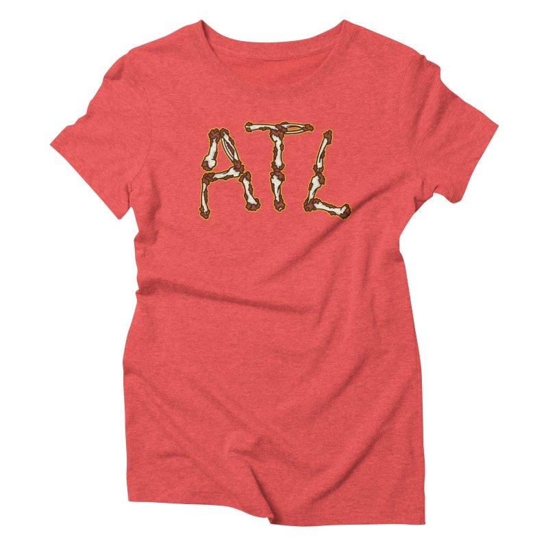 No Bones About It Women's Triblend T-Shirt by MattAlbert84's Apparel Shop