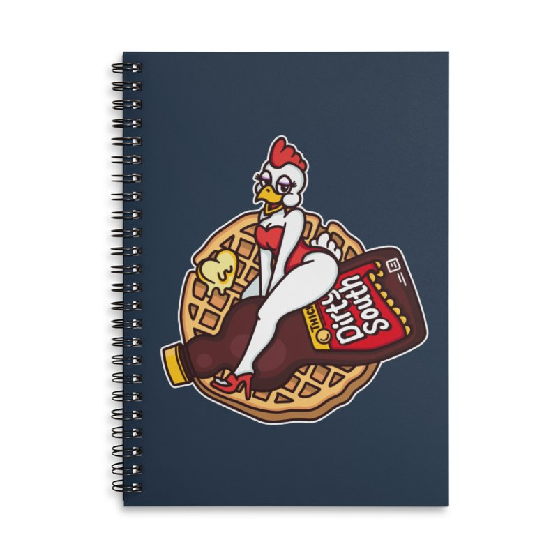 Waffle Bomber Accessories Lined Spiral Notebook by MattAlbert84's Apparel Shop