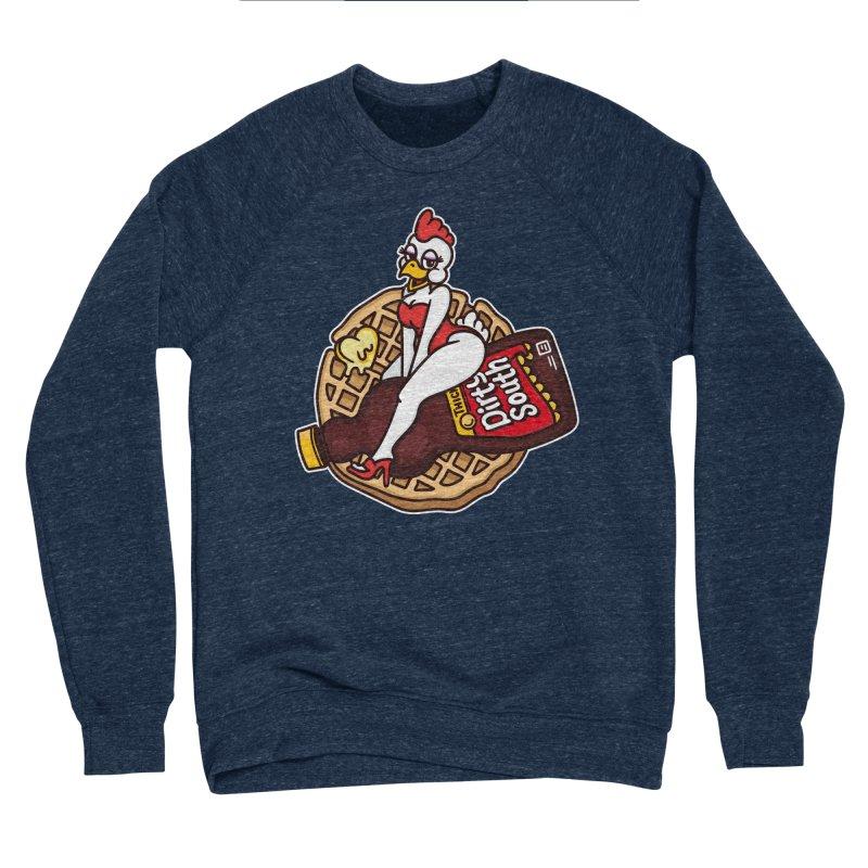 Waffle Bomber Men's Sponge Fleece Sweatshirt by MattAlbert84's Apparel Shop