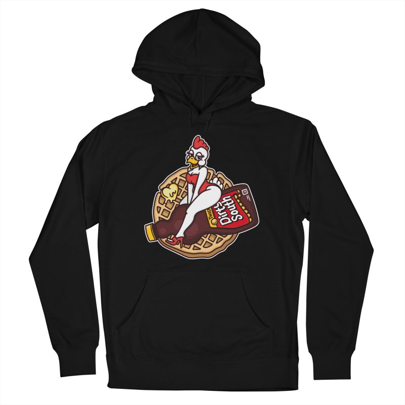 Waffle Bomber Women's French Terry Pullover Hoody by MattAlbert84's Apparel Shop