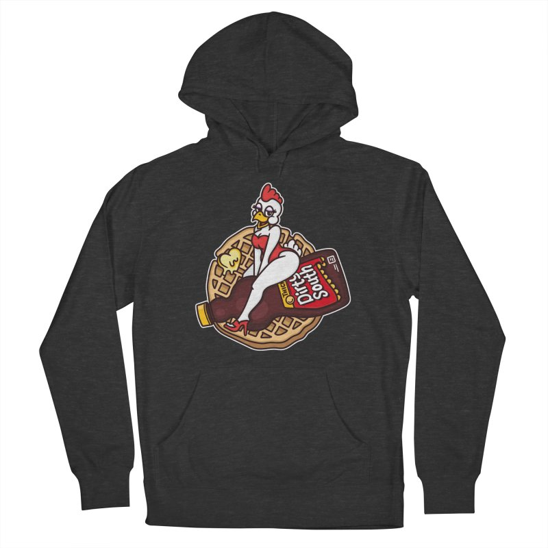 Waffle Bomber Men's French Terry Pullover Hoody by MattAlbert84's Apparel Shop