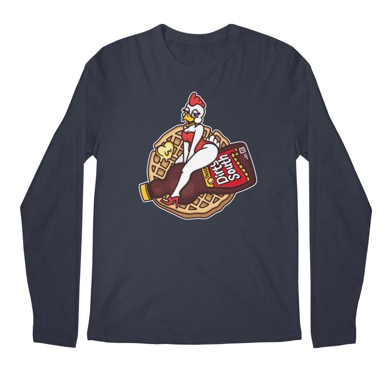 Waffle Bomber Men's Regular Longsleeve T-Shirt by MattAlbert84's Apparel Shop