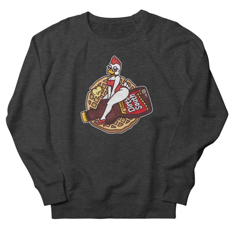 Waffle Bomber Women's French Terry Sweatshirt by MattAlbert84's Apparel Shop