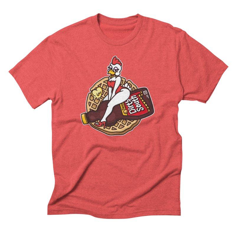 Waffle Bomber Men's Triblend T-Shirt by MattAlbert84's Apparel Shop