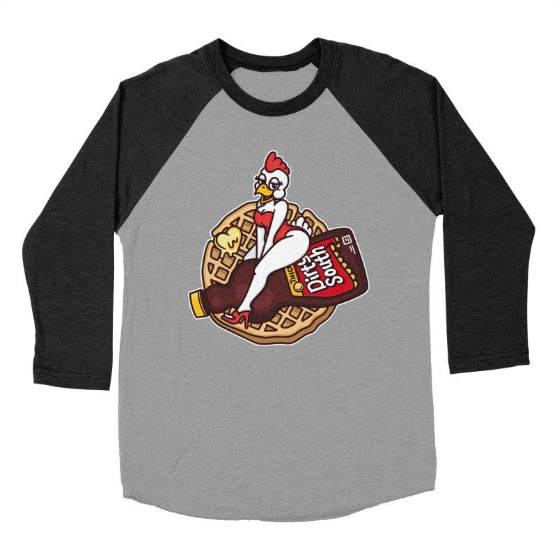 Waffle Bomber Women's Baseball Triblend Longsleeve T-Shirt by MattAlbert84's Apparel Shop